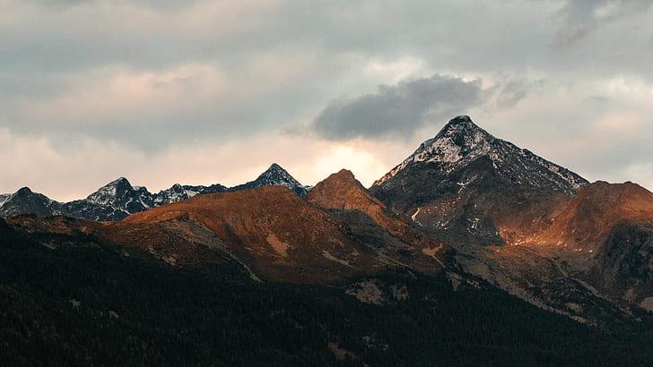 Royalty Free Photo White And Black Mountain Pickpik