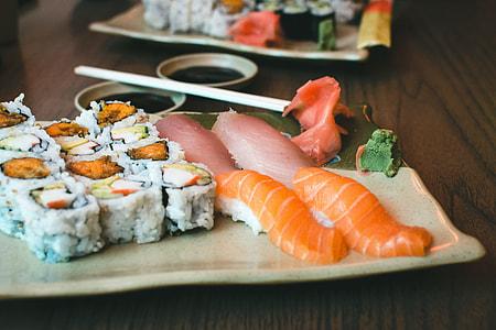 Fresh Sushi Yam California Rolls