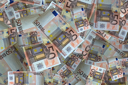 50 euro banknote collection