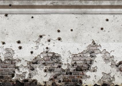 photo of gray concrete bricks