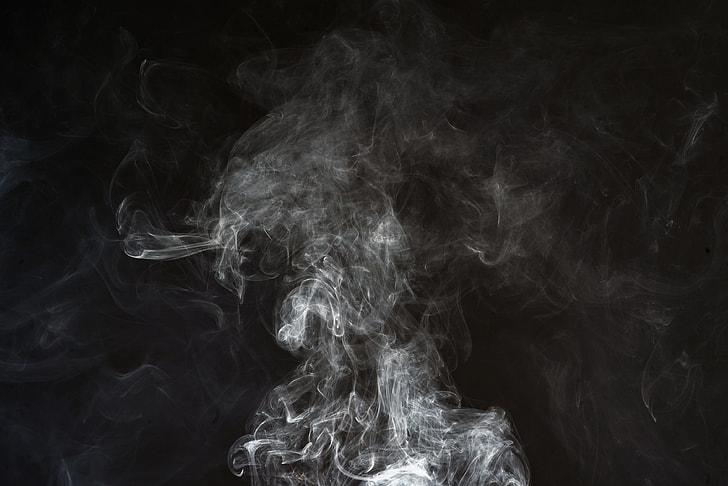Royalty Free Photo Smoke On Air With Black As Background Pickpik