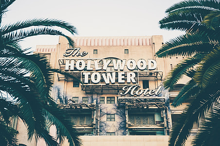 portrait photography of Hollywood Tower