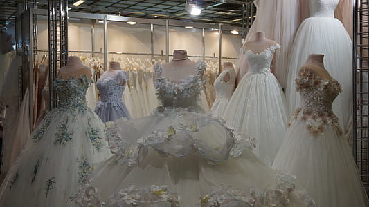 wedding gown store