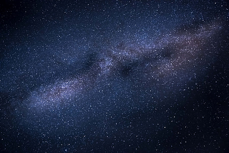 Milky Way galaxy stars in night sky