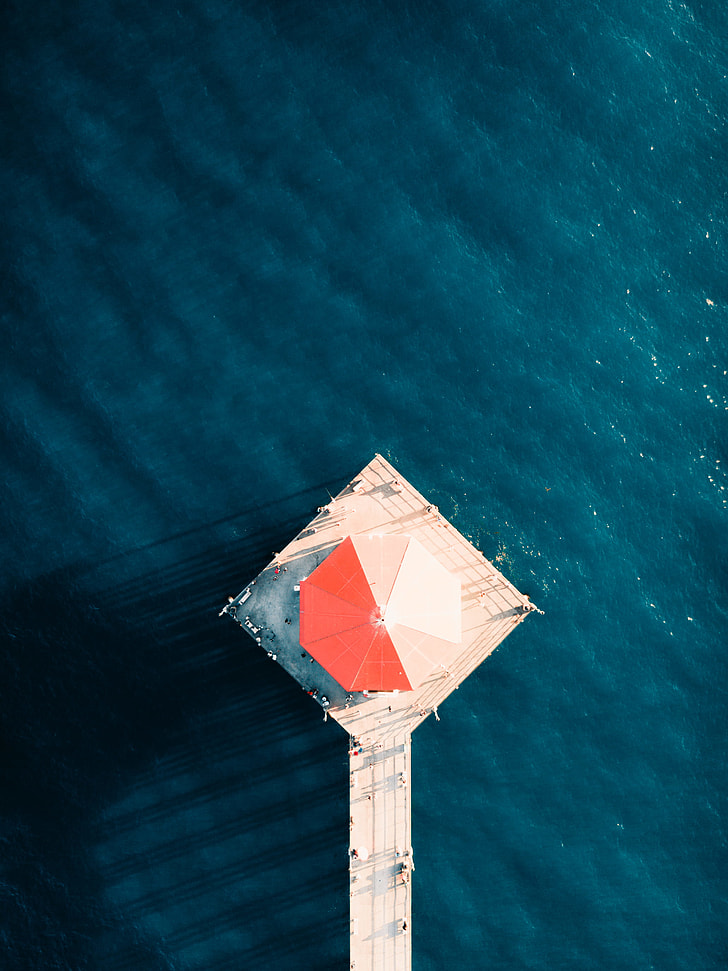 Above the Pier