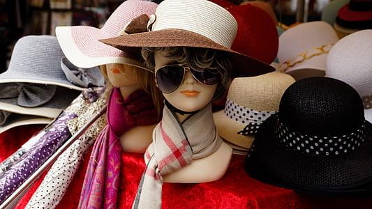 women's assorted fedora hats