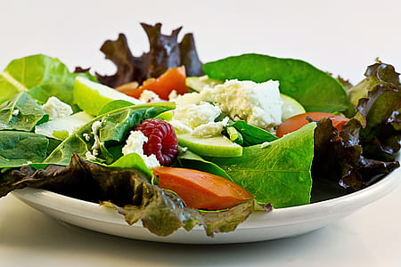 Salad on Plate