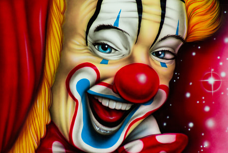 clown illstration