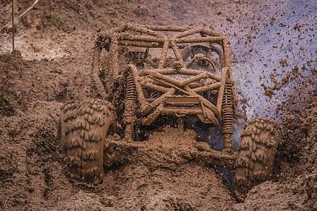 brown dune buggy