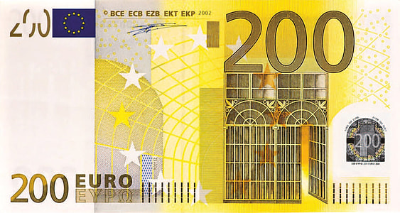 200 Euro banknote