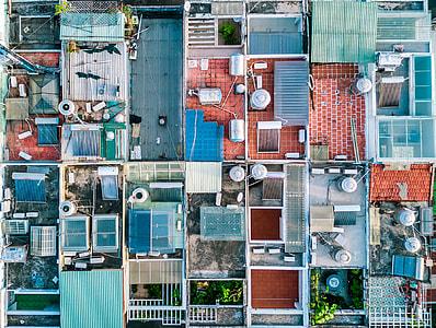 Rooftop pattern