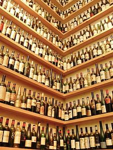 assorted glass bottle lot