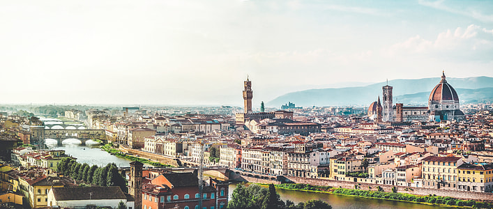 photography of city landscape