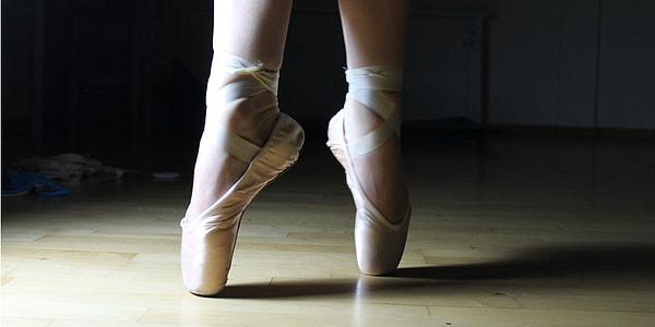 photo of ballerina's feet