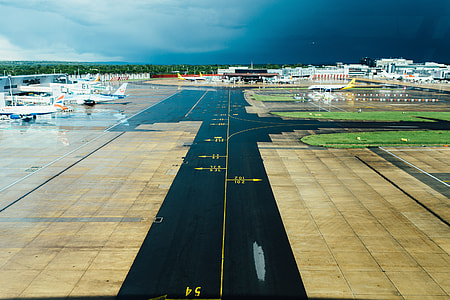 Airport Runway Plane