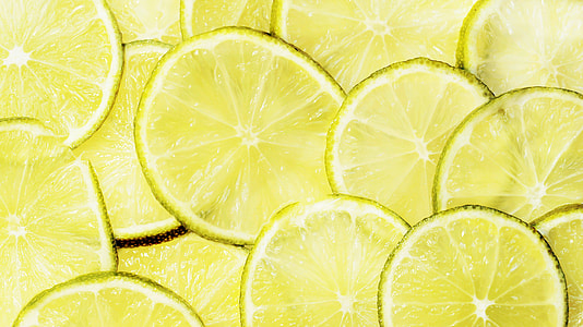sliced lemon lot