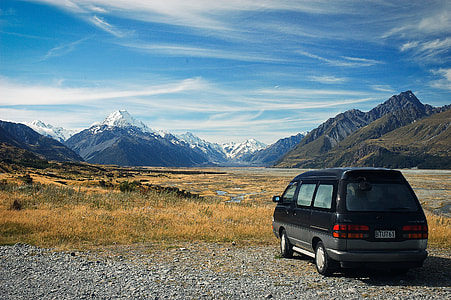 Travel to Mount Cook National Park