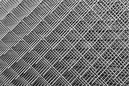 photo of gray metal artwork