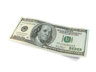100 U.S. dollar banknote