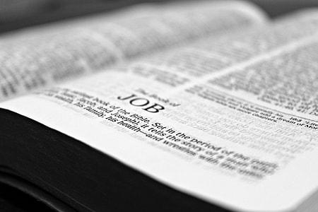 Job Bible epistle