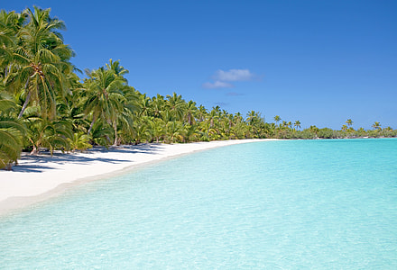 landscape photo of sea shoreline