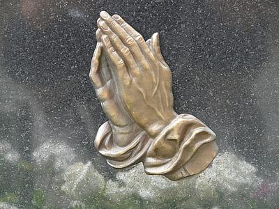 praying hands illustration
