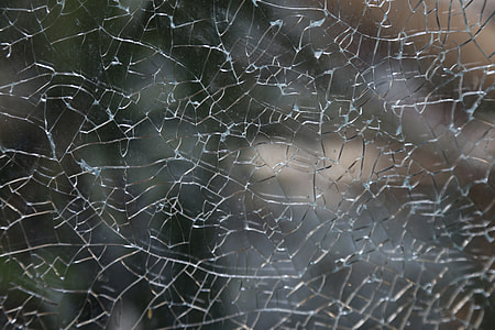 closed, up, photo, broken glass, shattered glass, texture