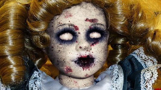 horrific doll