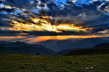 mountain panoramic photgraphy