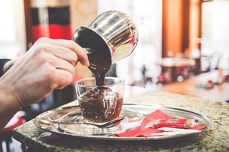 Barista Preparing The Best Hot Chocolate